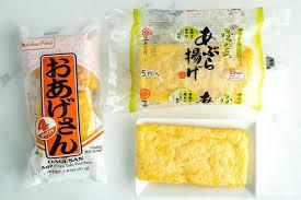 homemade inari age いなり揚げ just one