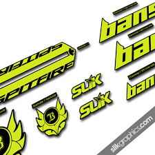 Banshee Spitfire 2015 Style Decal Kit Slik Graphics