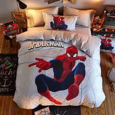 ultimate spider man super hero bedding