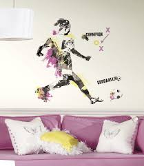 Women S Soccer Champion Peel And Stick Giant Wall Decals Walldecals Com