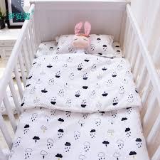 baby bedding set cotton crib bedding