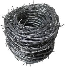 Unibos 30m X 1 7mm Galvanized Barbed Wire Security Fencing In Carry Tub New Amazon Co Uk Garden Outdoors