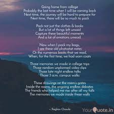 going home from college p quotes writings by raghav chawla