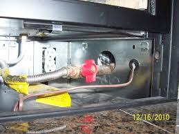 lennox gas fireplace draft hvac diy