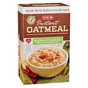 apples cinnamon instant oatmeal