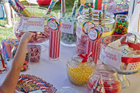 candy table large 20 kids muddy