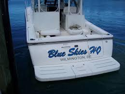 King Signs Custom Boat Lettering Serving Sarasota Fl