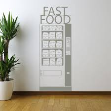 Fast Food Wall Decal Style And Apply