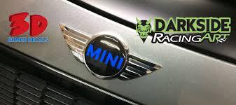 Mini Domed Decals Overlay Emblem