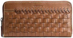 coach rip n repair accordion wallet in