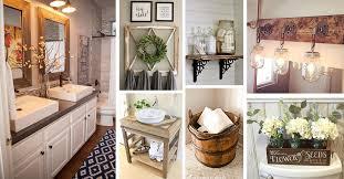36 best farmhouse bathroom design and