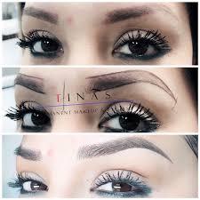 permanent makeup and eyelash