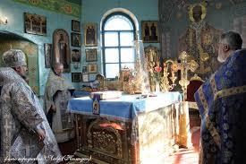 Архипастырь совершил Божественную литургию в праздник Благовещения  Пресвятой Богородицы — Минусинская Епархия