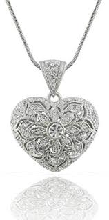jankuo jewelry rhodium plated antique