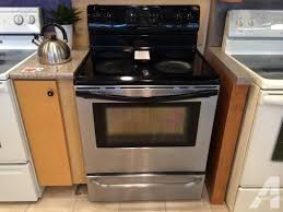 smooth glass top range stove oven