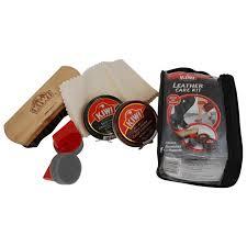 kiwi mens leather travel kit