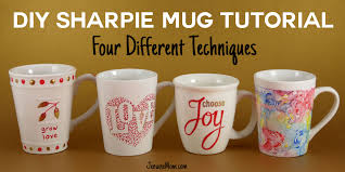 diy sharpie mugs for easy personalized