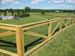 Diy Dog Fence Design And Ideas Cooper House 12 Photos Of The In Yard Olive Garden Locations Better Hom Diy Dog Fence Temporary Fence For Dogs Backyard Fences