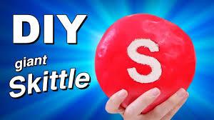 diy giant skittle