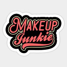 makeup junkie shirt 80s retro gift