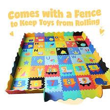 Baby Foam Play Mat With Fence Interloc Buy Online In Zimbabwe At Desertcart