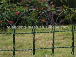 Green Pvc Coated Garden Border Fence Roll Buy Garden Border Fence Garden Fence Border Fence Product On Alibaba Com