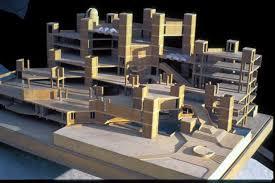 Archnet - Achyut Kanvinde - National Science Centre, Scale model    Architecture, Scale models, Willis tower