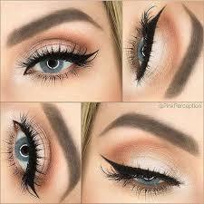 peach eye makeup