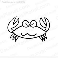 Crab Decal Vinyl Decal Sticker Wall Decal Decals Ground