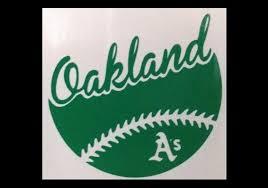 Oakland A S Athletics Baseball Vinyl Decal Car Window Etsy Baseball Vinyl Decal Computer Decal Car Decals Vinyl
