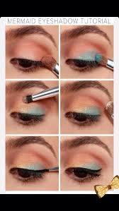 easy mermaid makeup tutorial using the