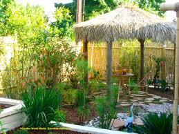 tropical garden designs for small
