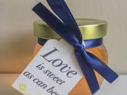 honey wedding favors diy ideas that are