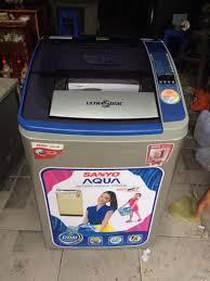 Máy giặt Sanyo ASW-U800Z1T 8kg lồng nghiêng mới 95% - TP.Hồ Chí ...