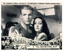 Flash Gordon Chapter 5: 'The Destroying Ray' From Left: Buster Crabbe Priscilla  Lawson 1936 Movie Poster Masterprint - Walmart.com - Walmart.com