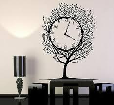 Vinyl Wall Decal Art Tree Clock Salvador Dali Home Decor Stickers 1280ig Ebay