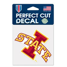 Ncaa Iowa State Cyclones Window Cling Target