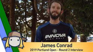 James Conrad: Portland Open Post Round 2 Interview - DISC GOLF NEWS FEED