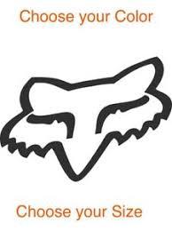 Atv Motocross Fox Racing Logo Car Vinyl Sticker Window Phone Bumper Laptop Decal Ebay