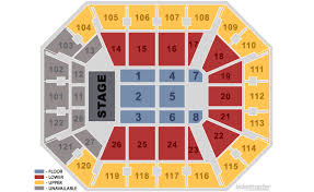 seating charts for all shows