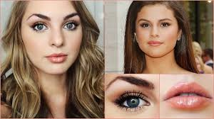 selena gomez inspired makeup look