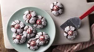 chocolate mint crinkles recipe