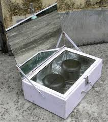 low cost wooden solar box cooker