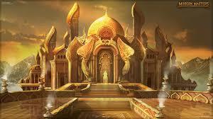 magic the gathering fantasy castle