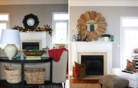 mantel decorating why scale matters