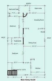 house plan for 45 24 ft plot 1080