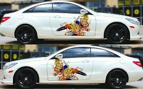 Dragon Ball Goku Vegeta Car Door Vinyl Decal Sticker Graphics Anime Fit Any Auto Ebay