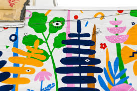 New Lauren West and Charles Burwell Murals in Spring Arts | Streets Dept