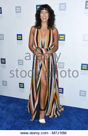 LOS ANGELES - MAR 4: Stephanie Beatriz at the 2018 Elton John AIDS  Foundation Oscar Viewing Party at the West Hollywood Park on March 4, 2018  in West Hollywood, CA Stock Photo - Alamy