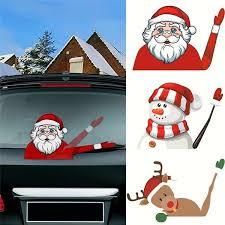 Funny Christmas Santa Claus Car Decal Vinyl Sticker Archives Midweek Com